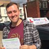 Pass my driving test with flying colours I couldn't have chosen a better instructor