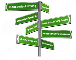 intensive driving, independent driving, driving test